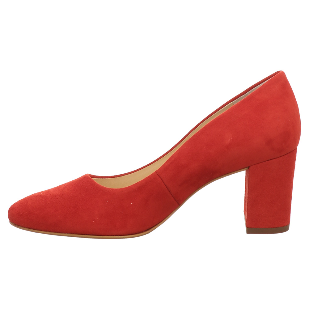 Paul Green | Pumps | Samtziege - rot | red