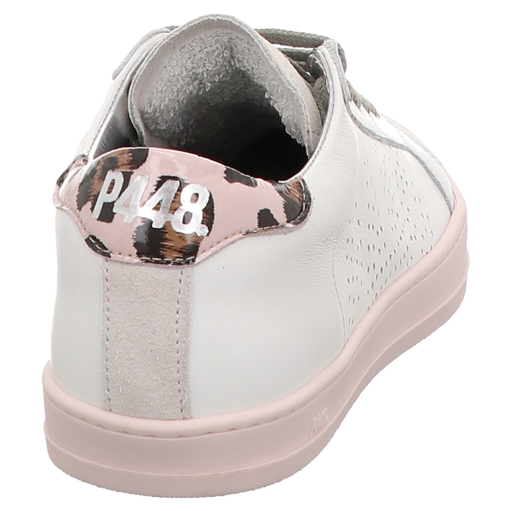 P448 | E9JOHNF | Sneaker - weiß | white pink