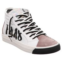 P448 | E9MIAMIS | High Top Sneaker - weiß | white