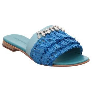 Melvin & Hamilton | Hanna 46 | Pantolette - blau | turquoise