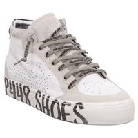 P448 | E9LOVEP | High Top Sneaker - weiß | white
