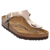 Birkenstock | Gizeh | Pantolette - electric metallic taupe