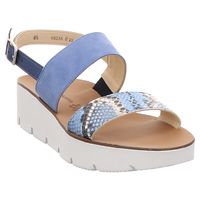 Paul Green | Sandalette - grau | denim