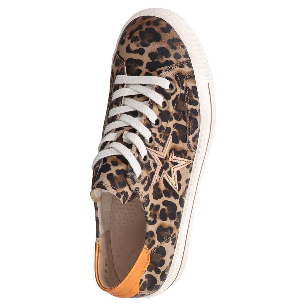 Paul Green | Leo Sneaker - braun | camel orange