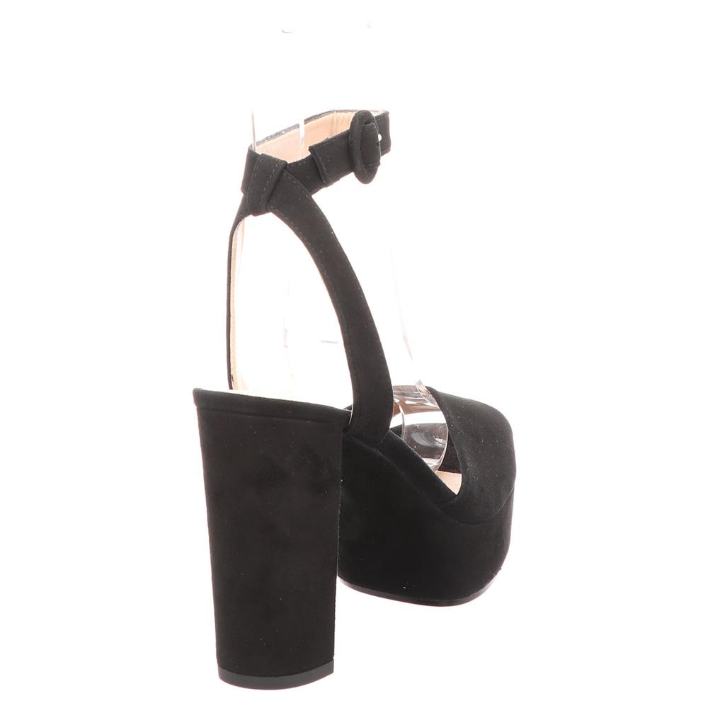 Unisa | Venta | Peeptoe Sandalette - schwarz | black