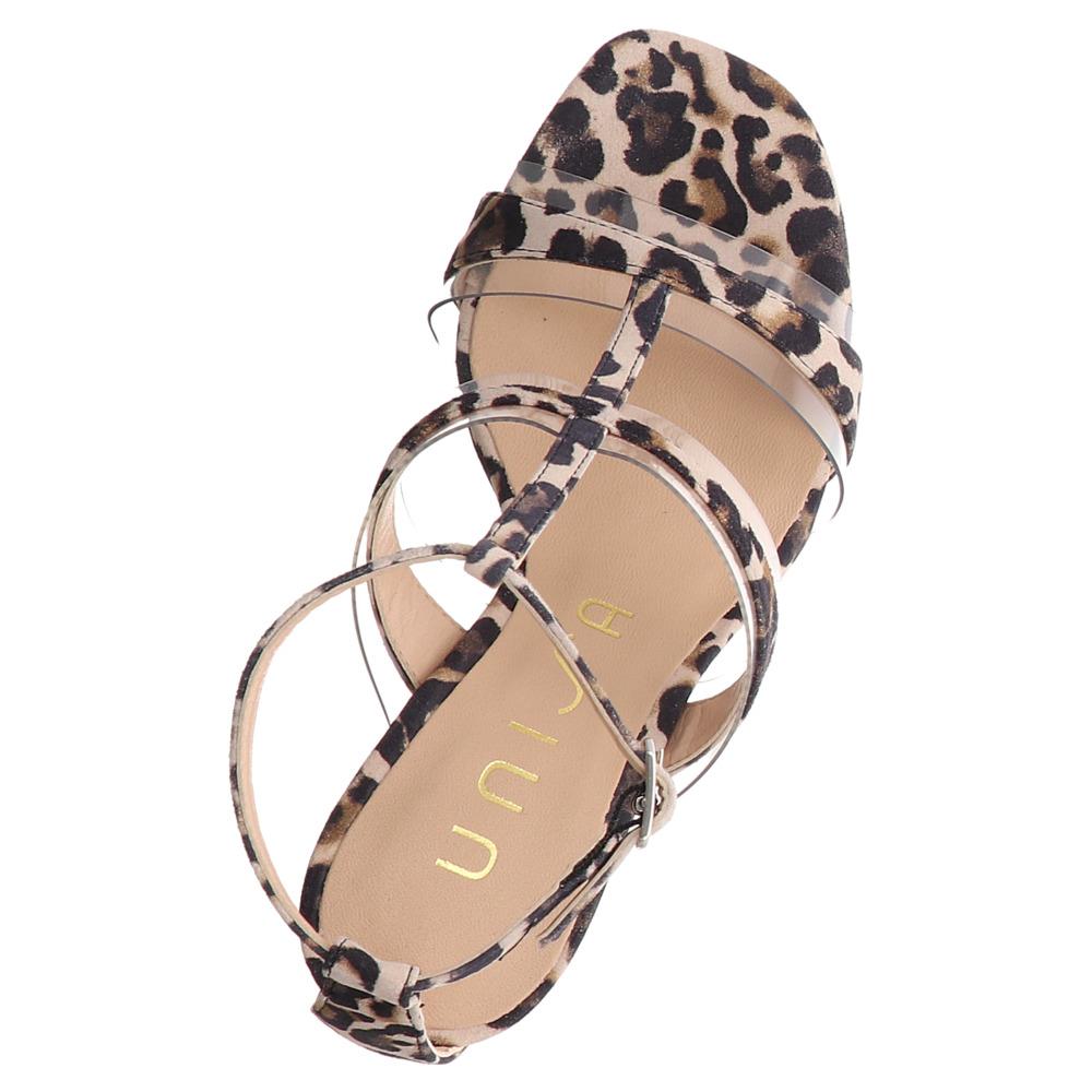 Unisa | Sagunto | Sandalette - beige | natural leo