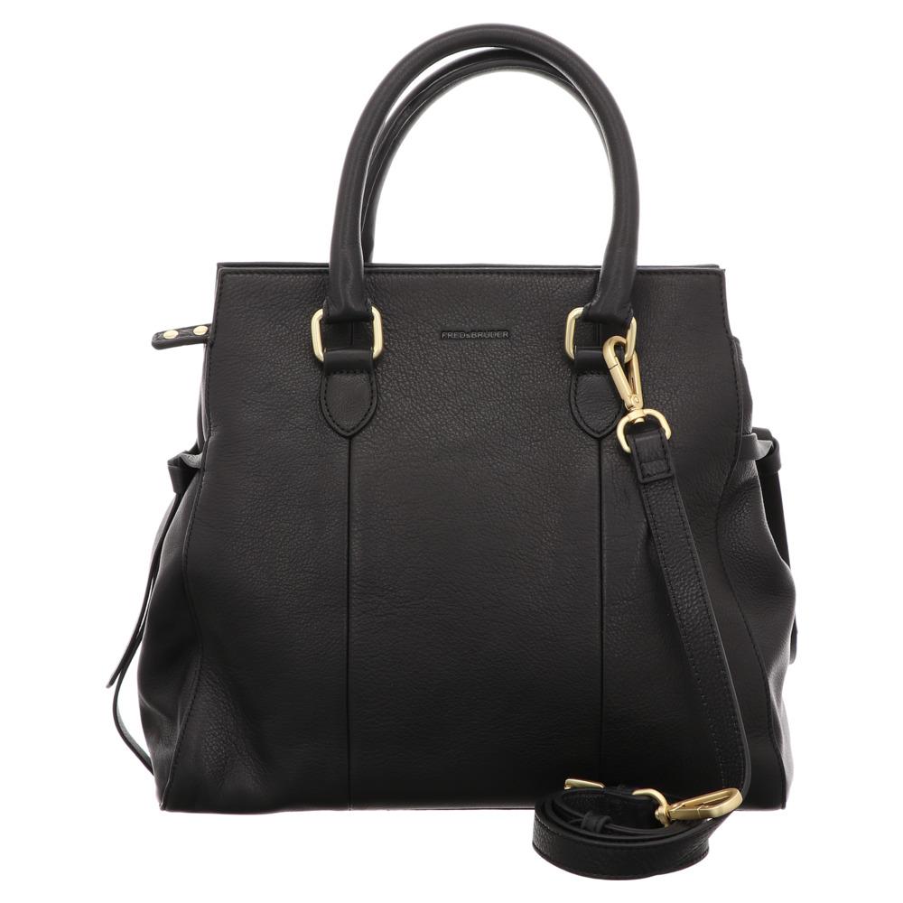 FREDsBRUDER   Bold   Handtasche - schwarz   black