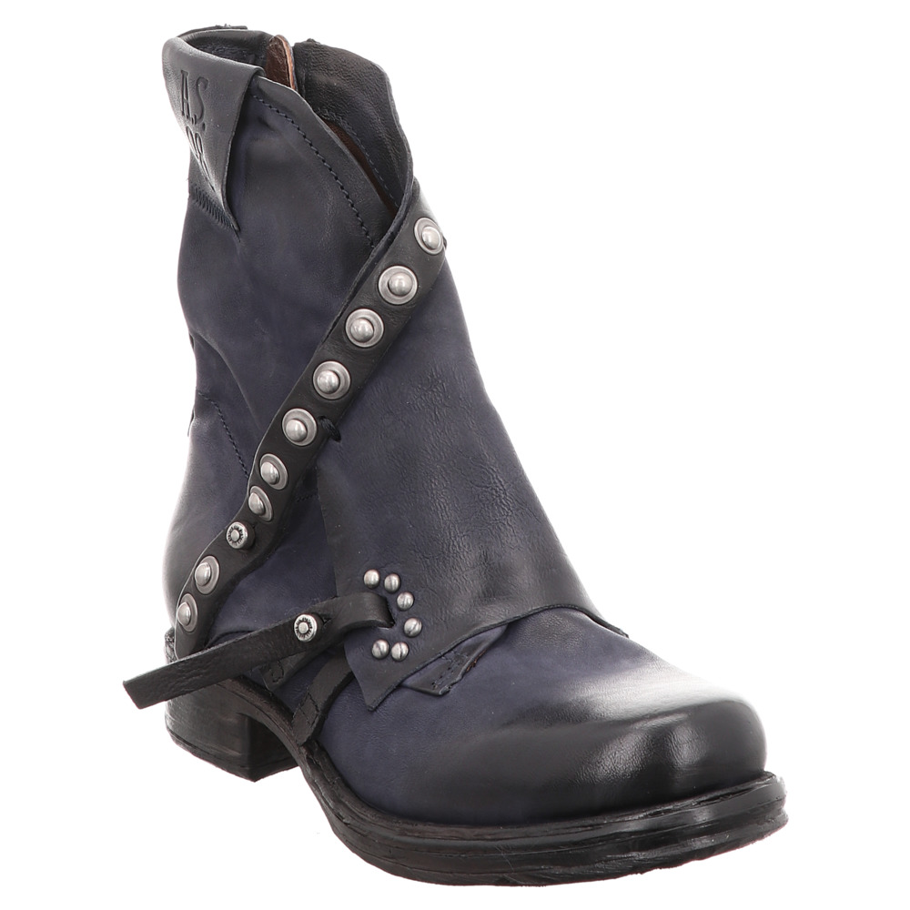 low priced 2f32a 465c9 AS98 | Airstep | Biker-Boot - blau | nero