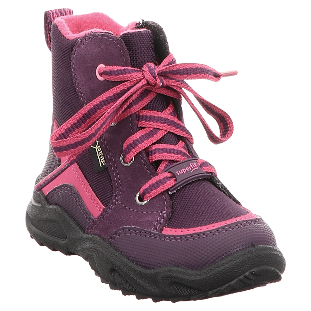 official photos 95c1a be1ee Superfit | Glacier | Schnürboots gefüttert | weit - lila