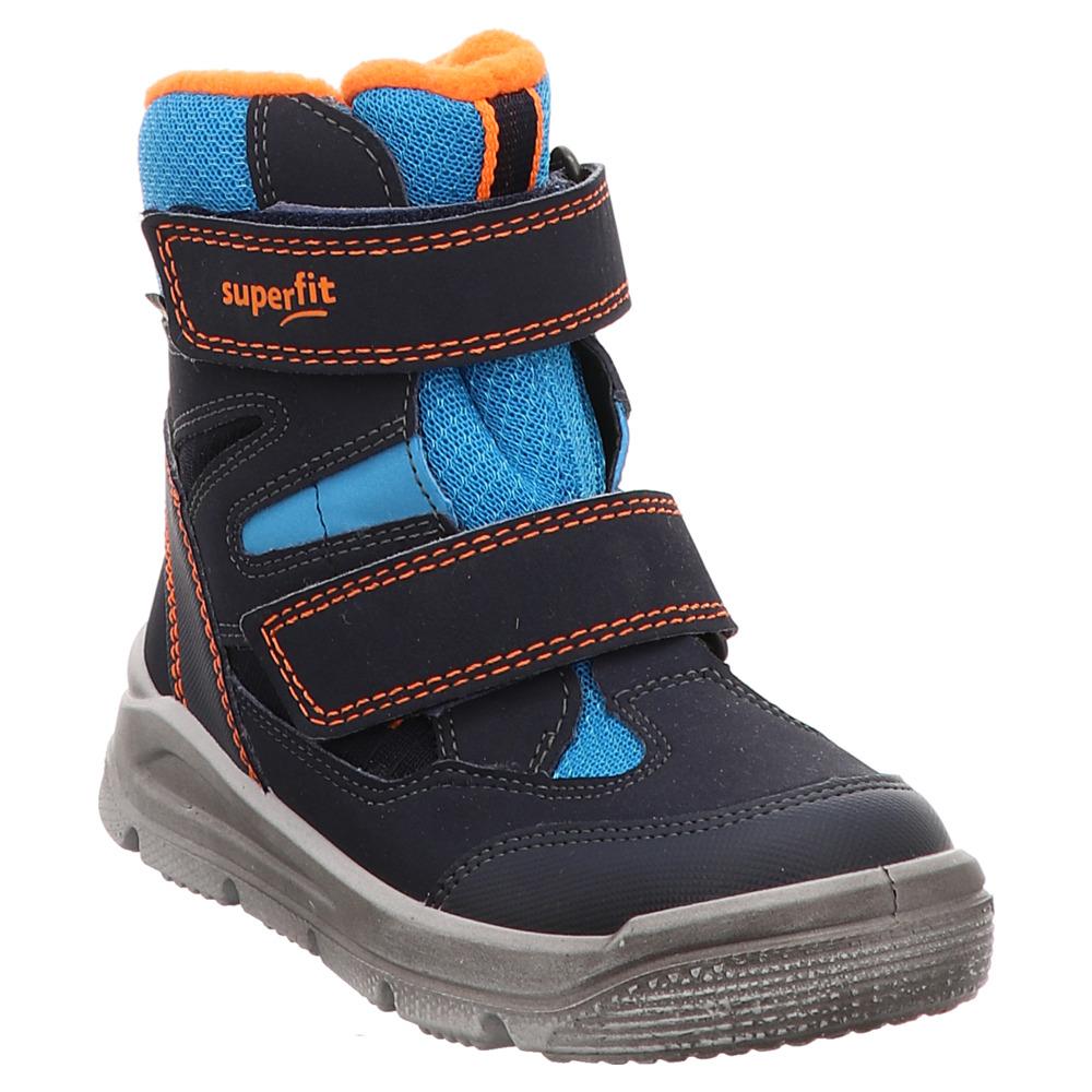 Superfit | Mars | Stiefel gefüttert | Goretex blau | Müller das Schuhhaus