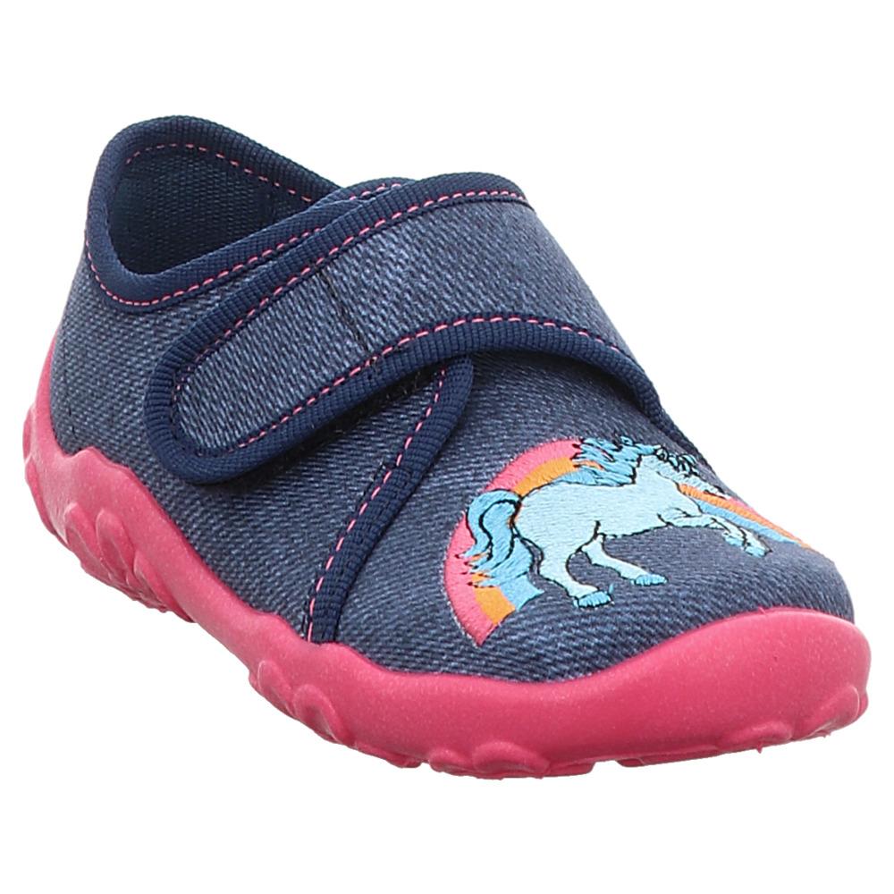separation shoes 391ef a5b1b Superfit | Bonny | Hausschuh | Einhorn - blau