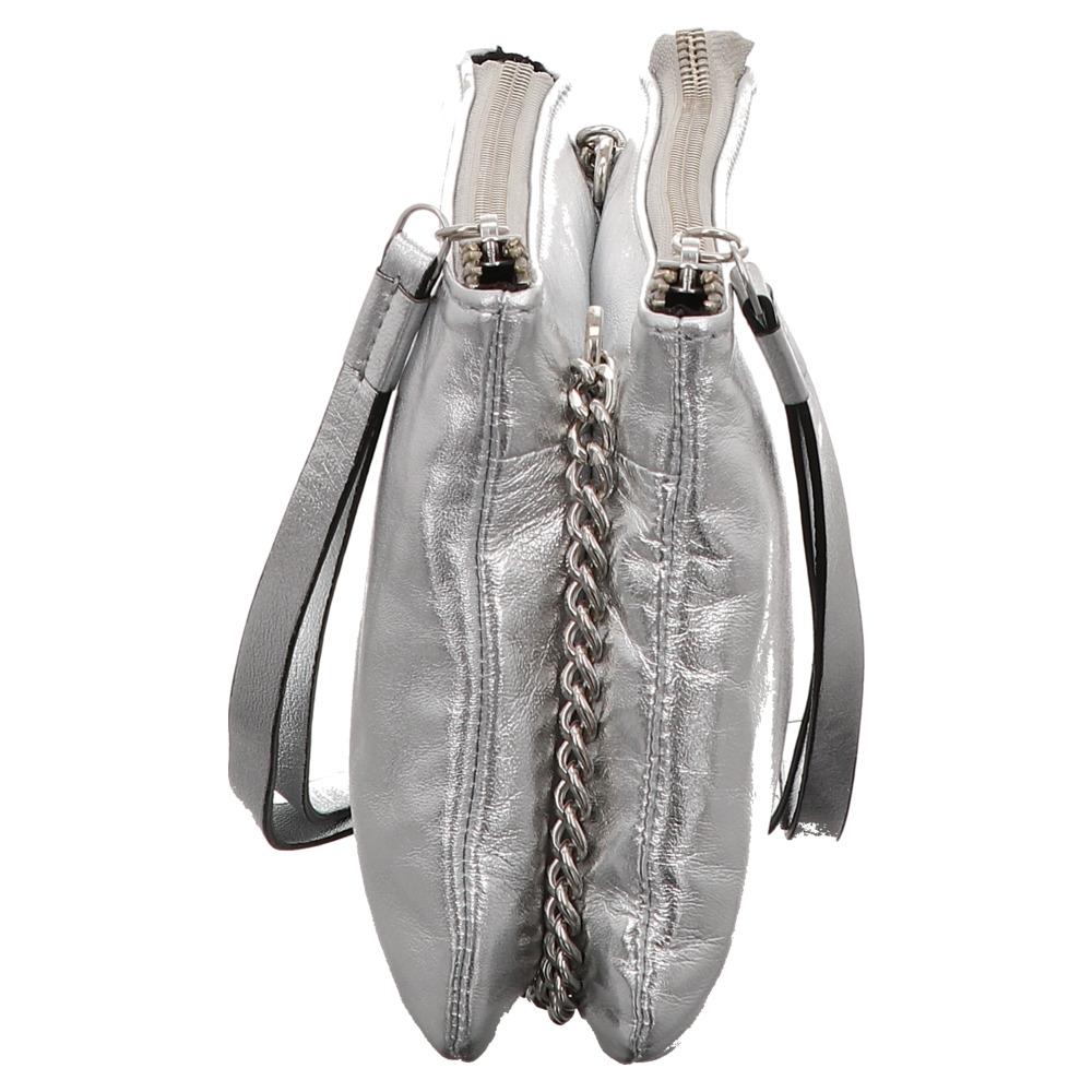 FREDsBRUDER | Nibbles | Umhängetasche - silber | silver
