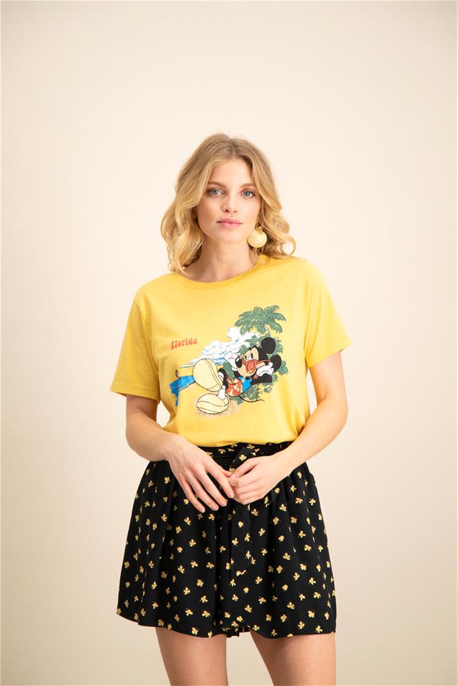 Catwalk Junkie | Mickey Florida | T-Shirt - gelb | sunbeam
