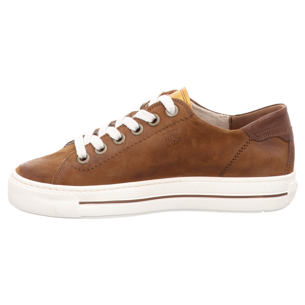 Paul Green | Schnürer | Sneaker | Super Soft - braun | cognac