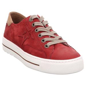 Paul Green | Schnürer | Sneaker Stern - rot | chili