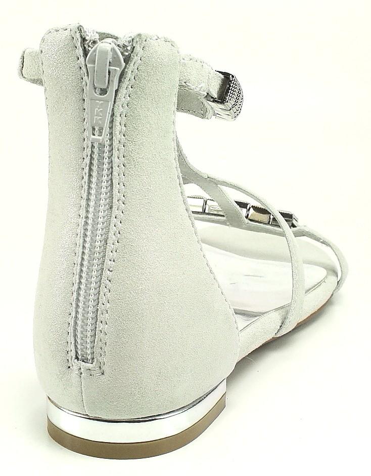 Carma Sandale bianco silver weiss