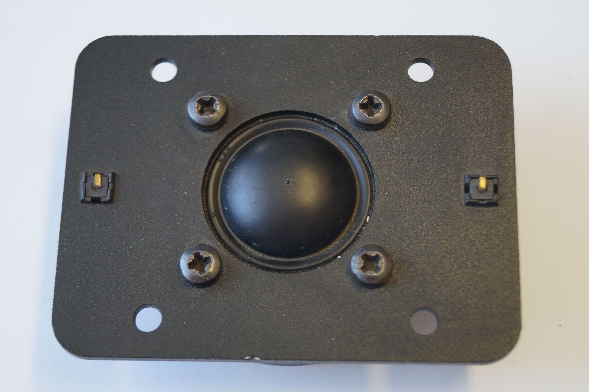 1 Paar 25 mm Hochton-Kalotte Magnat 1010380SDQD S 90 Watt max. – Bild 1