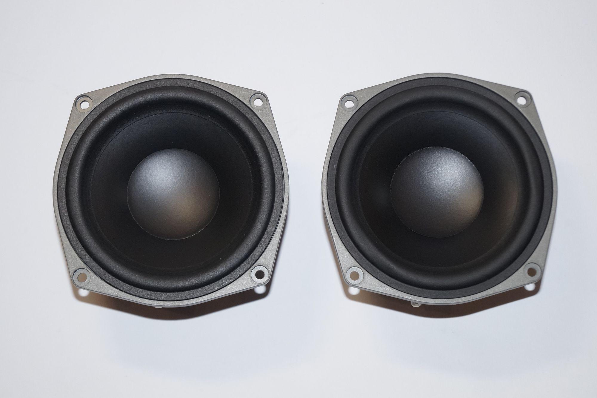 1 Paar Magnat W110 CP 880 Tiefmitteltöner 150 Watt max., NEU 001