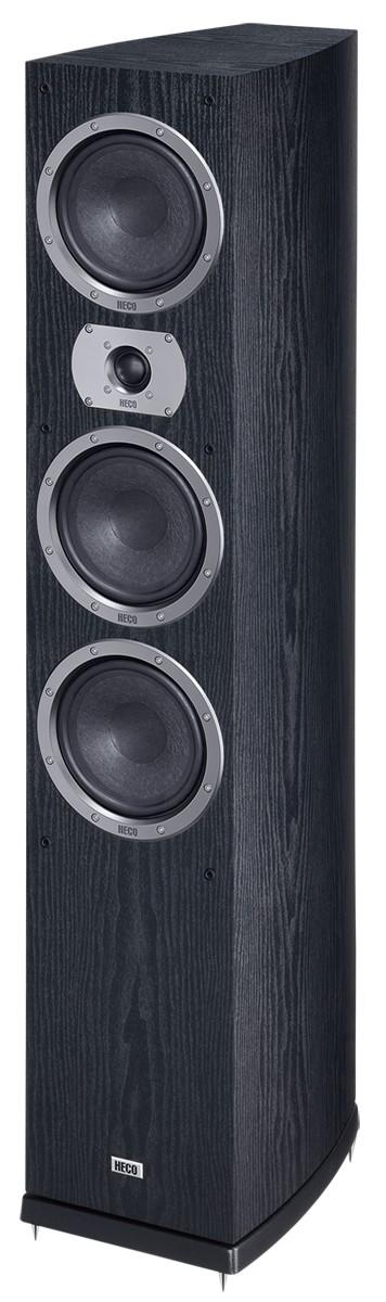 Heco Victa Prime 702, 3 Wege Bassreflex, 300 Watt max., schwarz 1 Stück, Neu-Ware – Bild 1