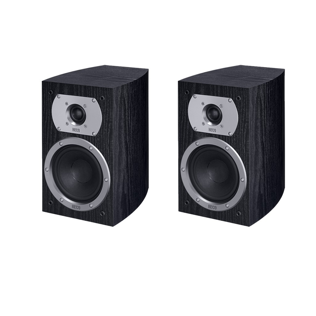Heco Victa Prime 202, 2 Wege Bassreflex, 110 Watt max., schwarz 1 Paar Neu-Ware 001