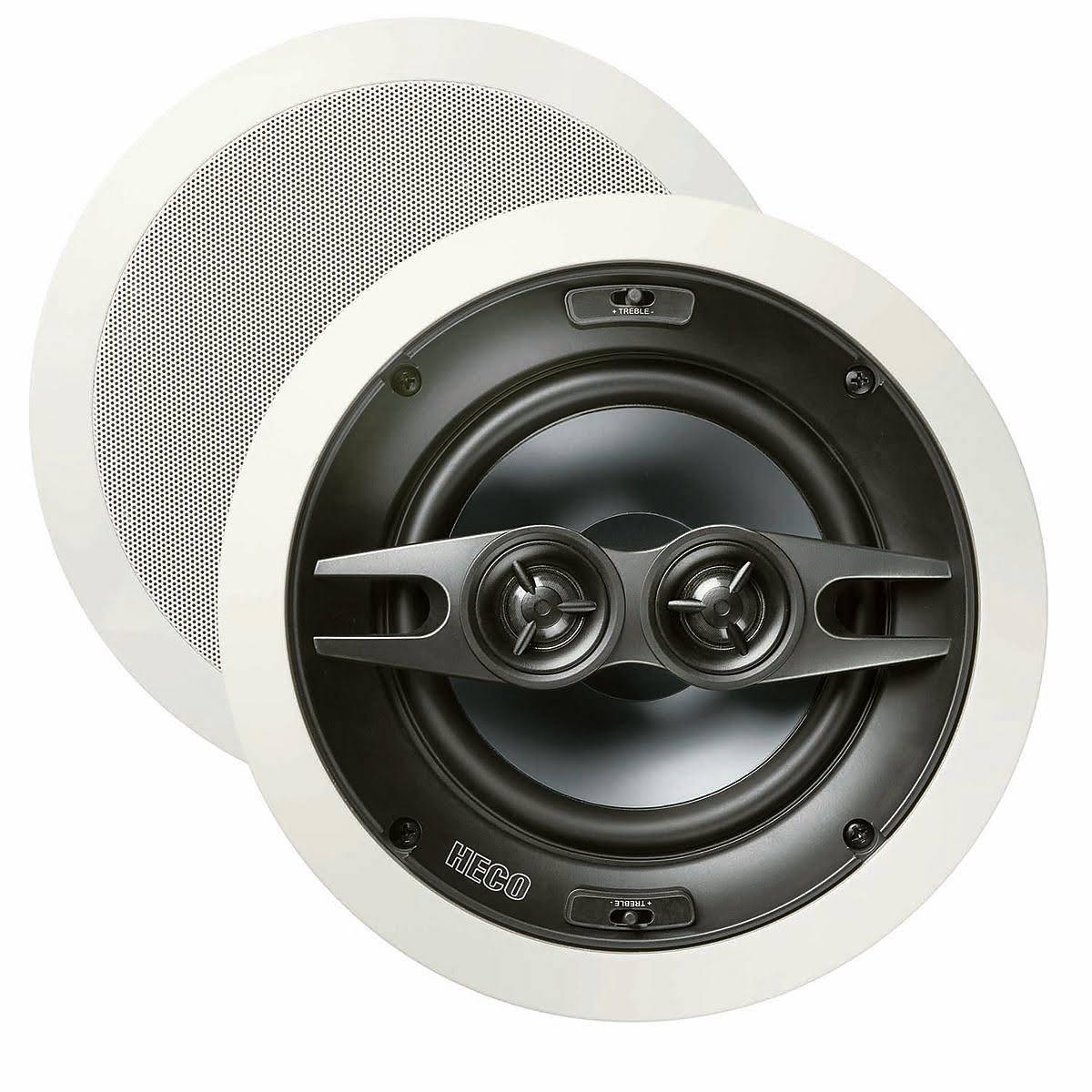 Heco Install INC 2602, High End Decken-Einbaulautsprecher, 2x2-Wege, 100/180 Watt max., 1 Stück, B-Ware