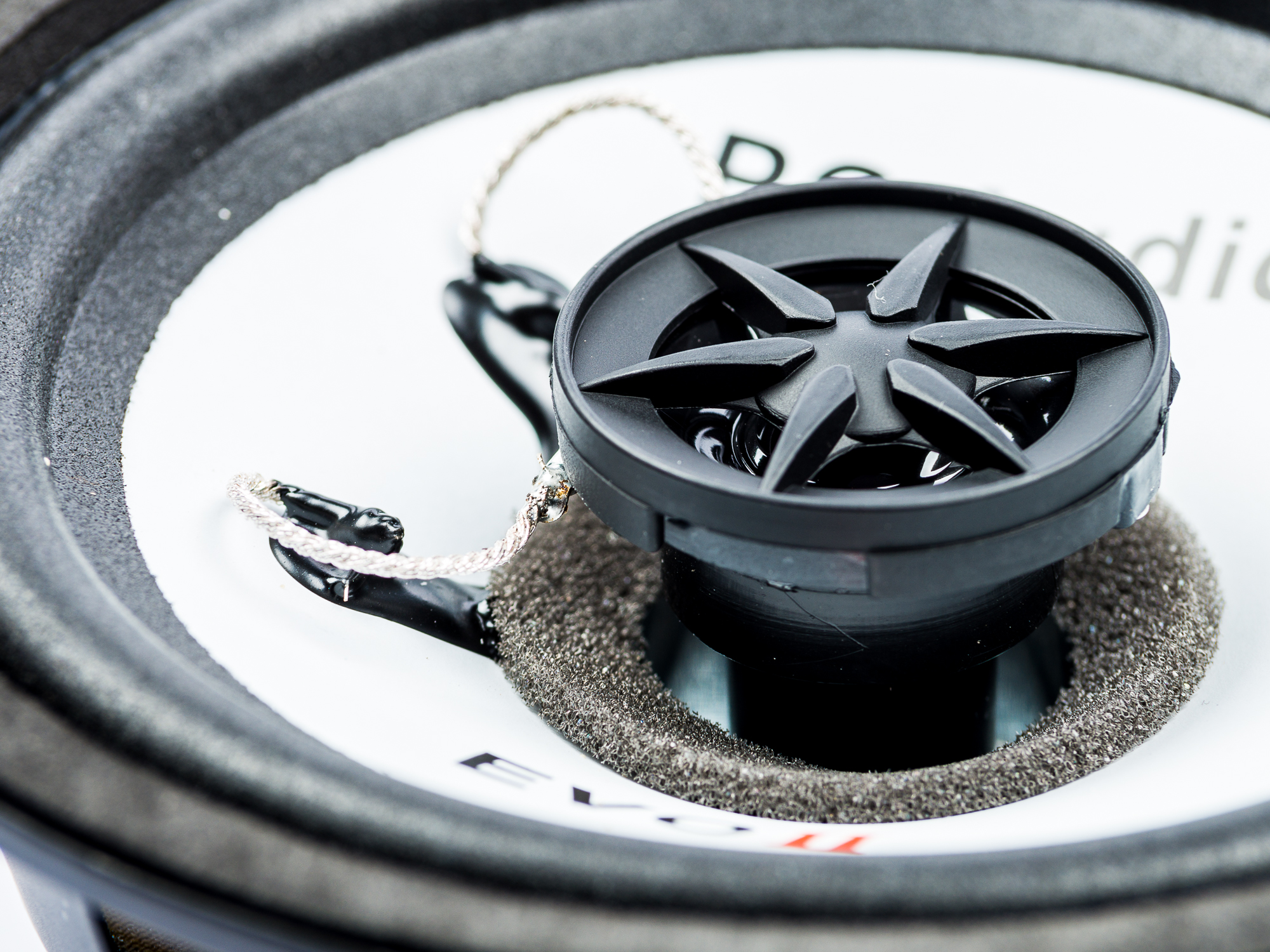 Citroen Jumpy Peugeot Expert Lautsprecher Einbauset Tür vorne PG Audio – Bild 4
