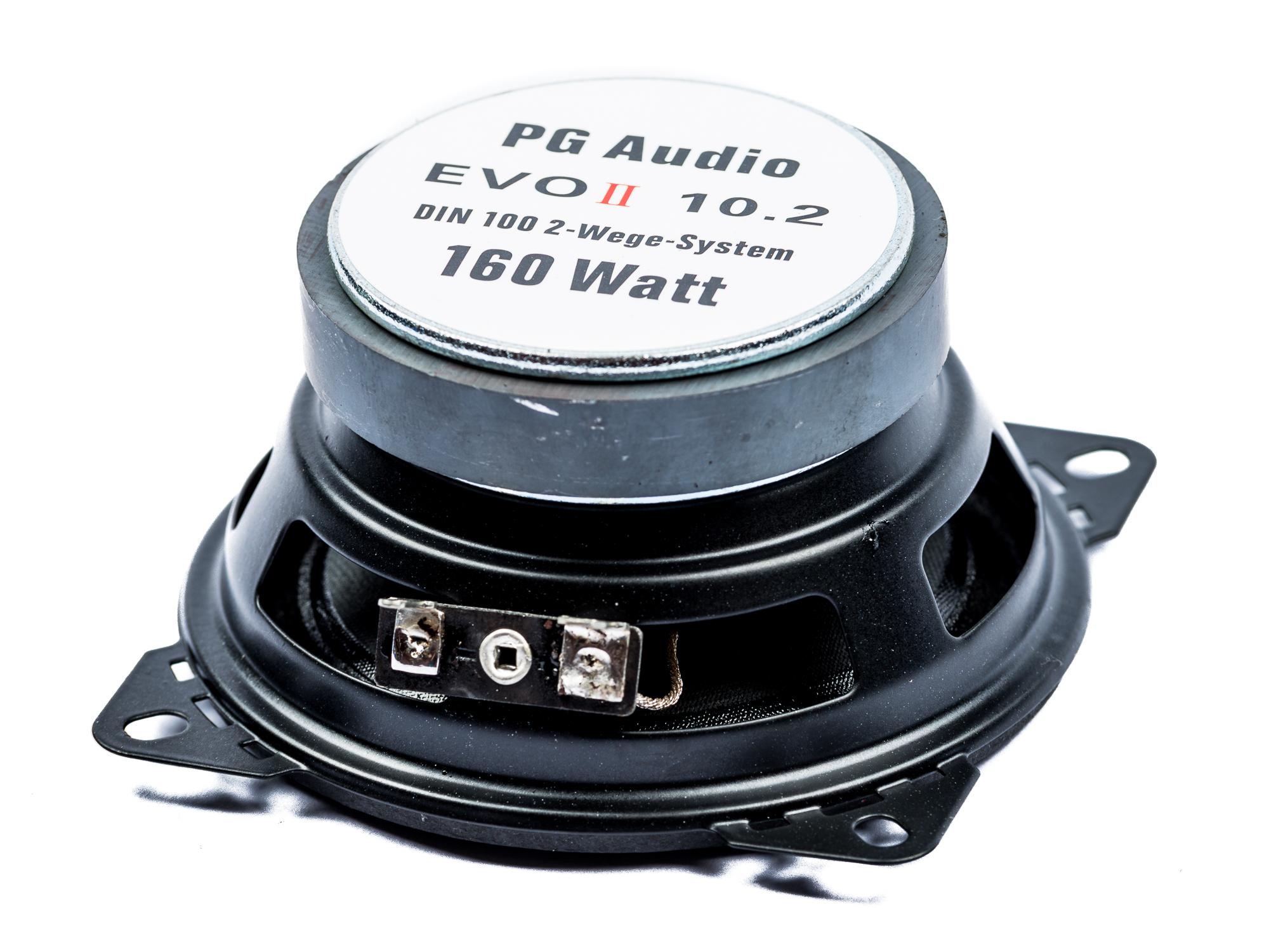 PG Audio EVO II 10.2, 10 cm 2 Wege Coax Auto Lautsprecher Armaturenbrett, Neu-Ware – Bild 3