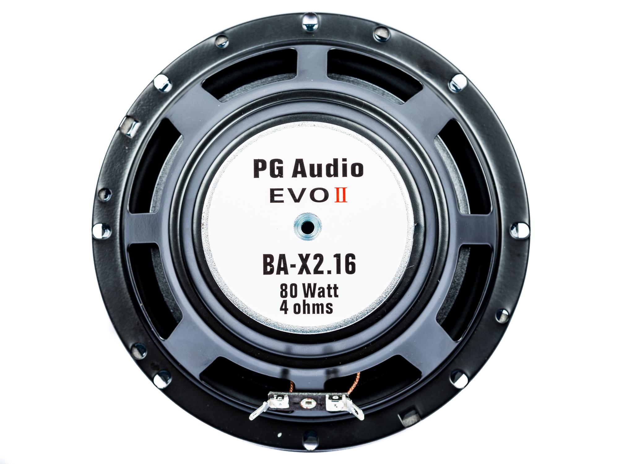 VW Golf 7, VW Polo 9N, VW Up, Lautsprecher, Boxen, Tür vorne, PG Audio Evo II 2.16 – Bild 3