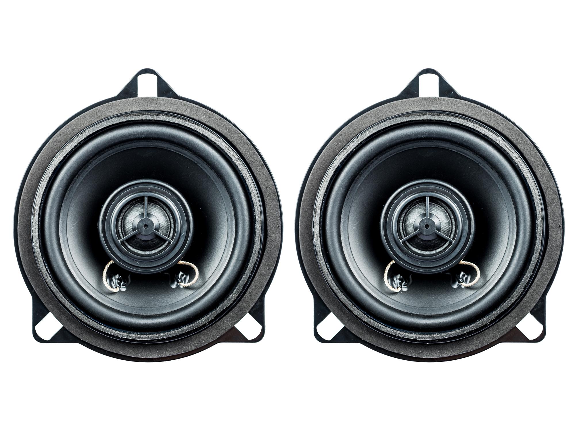 PG Audio BM-4, 10 cm Koaxial Lautsprecher passend für BMW 1er (E81, E82, E87, E88), 3er (E90, E91, E92) 5er (E60, E61), X1 (E84)1 Paar