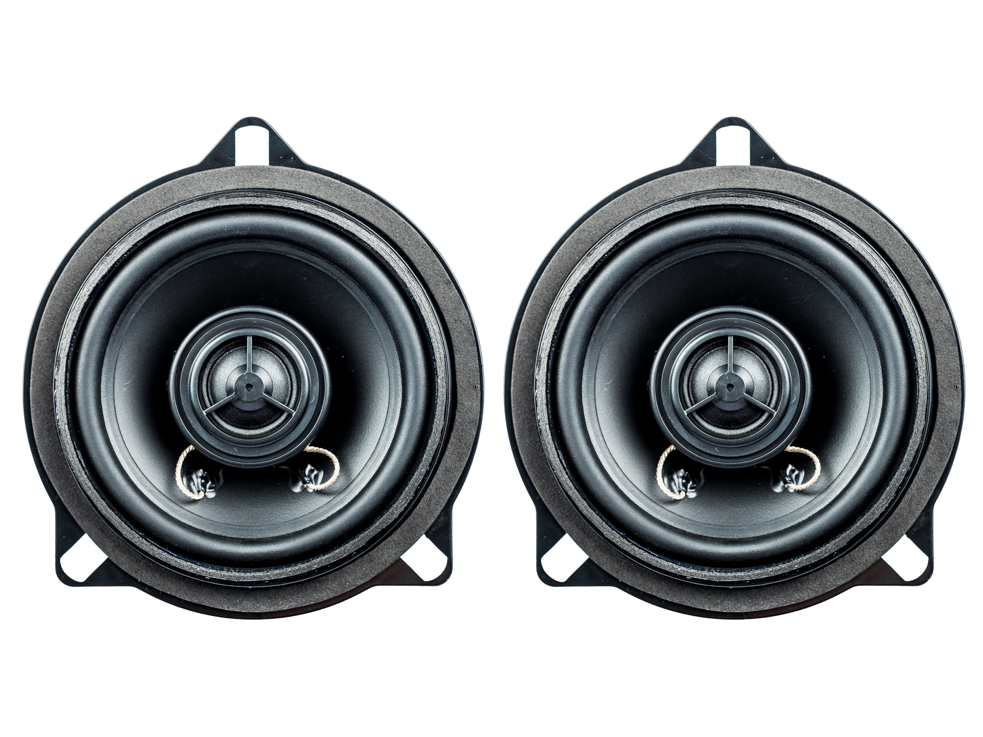 PG Audio BM-4, 10 cm Koaxial Lautsprecher passend für BMW 1er (E81, E82, E87, E88), 3er (E90, E91, E92) 5er (E60, E61), X1 (E84)1 Paar 001