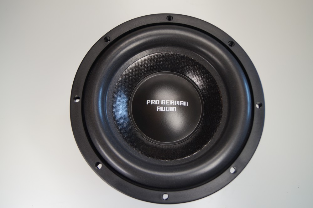 pg audio 822 boom 8 zoll 20 cm subwoofer ebay. Black Bedroom Furniture Sets. Home Design Ideas