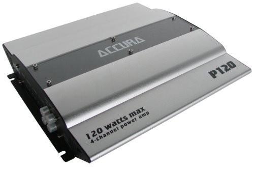 Accura P 120, Auto Verstärker 4 Kanal Endstufe 120 Watt max., Neu-Ware 001