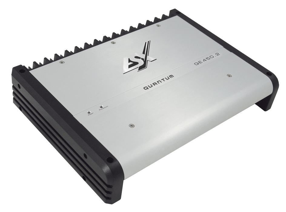 ESX Quantum Amplifire QE-450.2, 2-Kanal Verstärker mit 900 Watt max., NEU