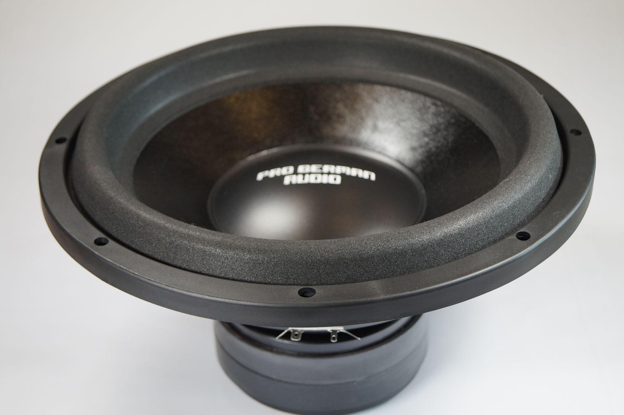 "PG Audio 1222 Boom, 12"" 30 cm Subwoofer, 2000 Watt max.1 Stück – Bild 3"