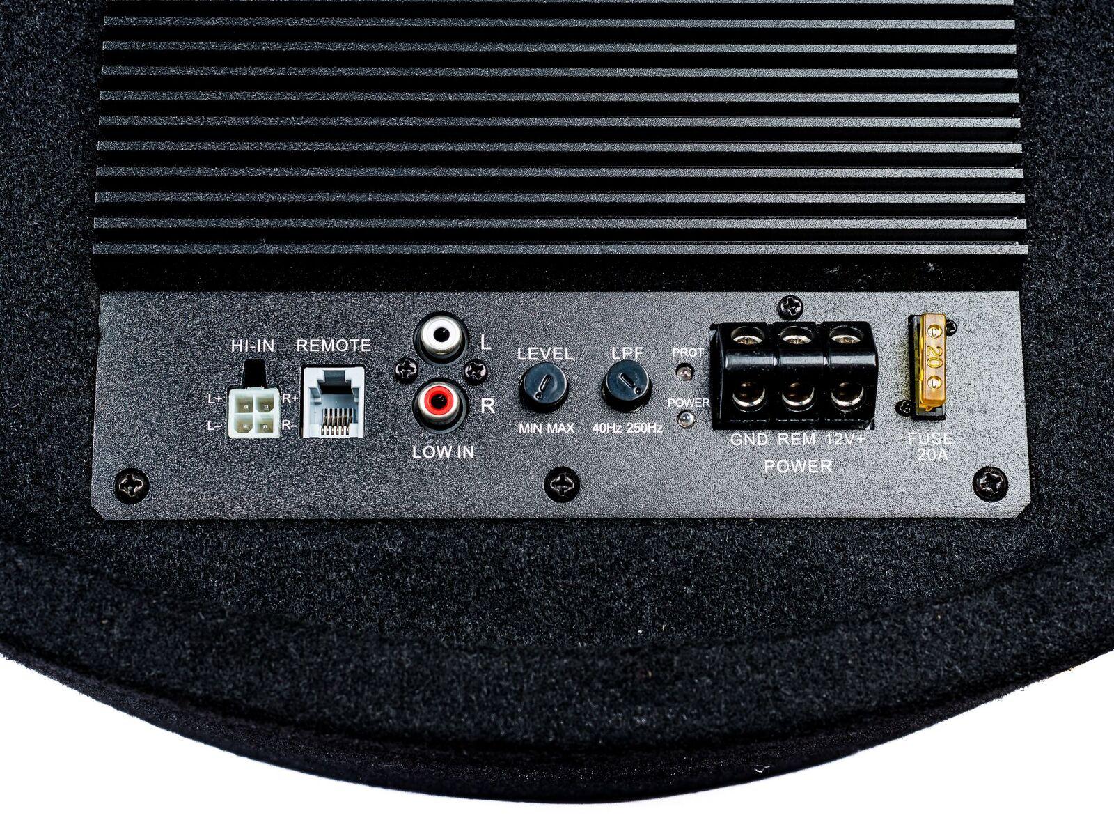 PG Audio aktiver Reserverad Subwoofer 2 x 8 Zoll ,1 Stück B Ware – Bild 3