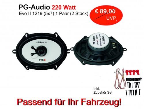[Paket] Lautsprecher 5x7 Zoll,2-Wege-Koax,Coax, passend für folgende Mazda & Ford Fahrzeuge