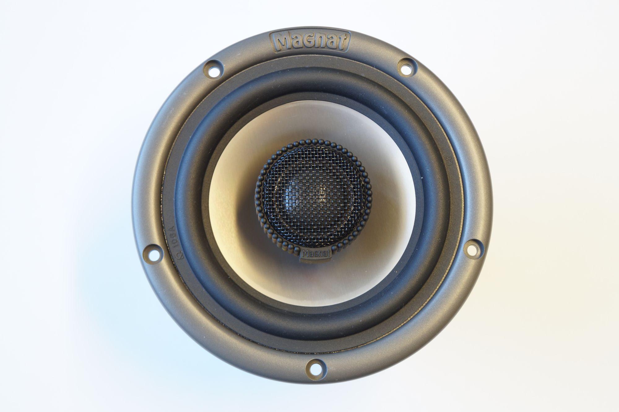1 Stück 135 mm 2-Wege Koax Magnat MCO ABS 135 AL 485 S 150 Watt max., NEU