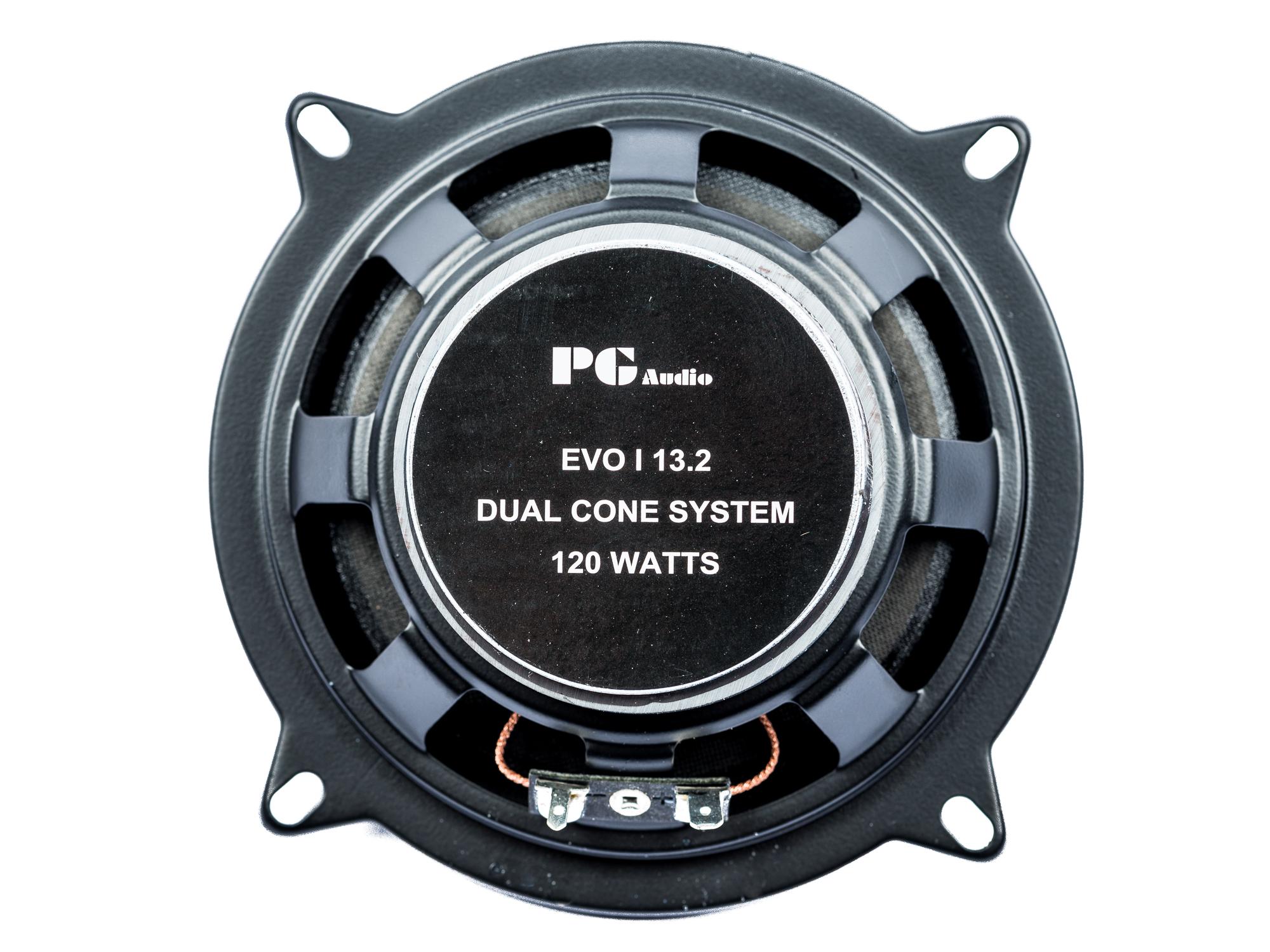 1 Paar PG Audio EVO I 13.2, 13 cm Dual Cone Lautsprecher , B-Ware – Bild 3