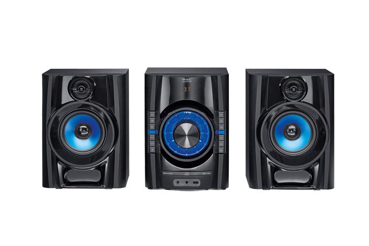 Mac Audio MPS  501 High-Power Hifi-System mit DAB+, Bluetooth, USB, CD, AUX, RDS - schwarz 1 Stück