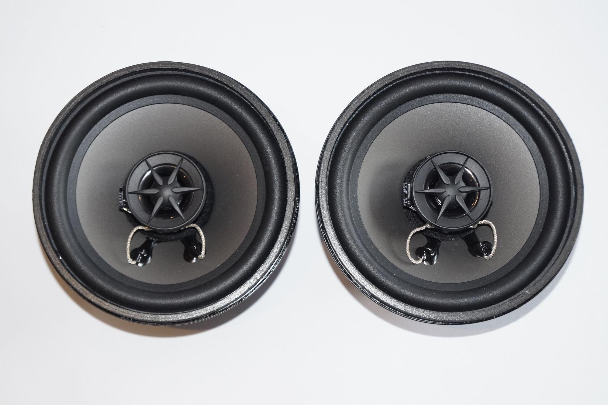 Mercedes Benz W 124 2 Wege Lautsprecher Front Armaturenbrett PG Audio 1 Paar  001