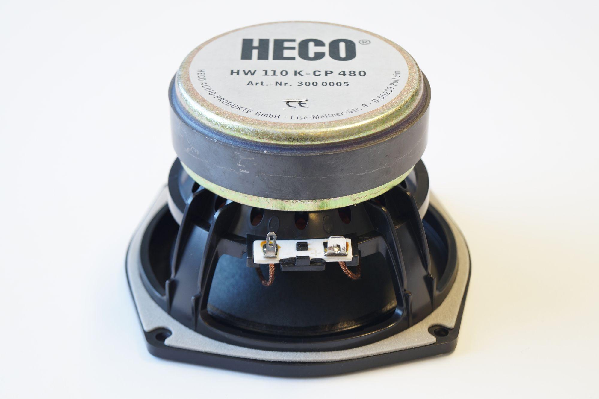 1 Stück Heco 110 mm Tiefmitteltöner HW110 K-CP 480 , Serviceware – Bild 2