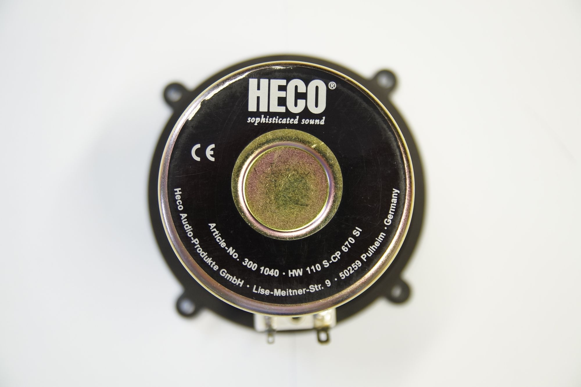 1 Paar Heco 110 mm Tiefmitteltöner HW110 S-CP 670 SI , Serviceware – Bild 3