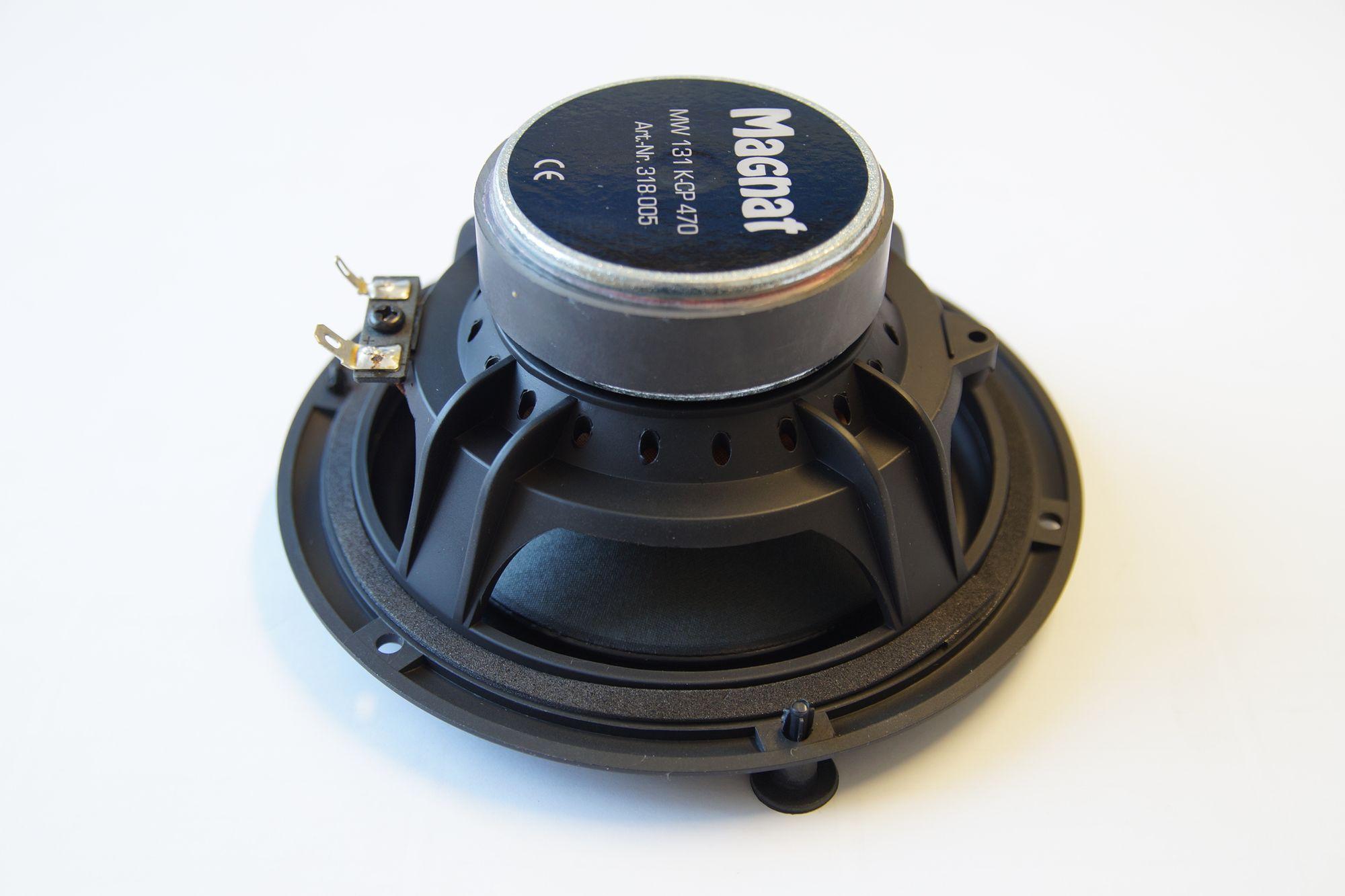 1 Stück 135 mm Tief Mitteltöner Magnat MW 131 K-CP 470 – Bild 3