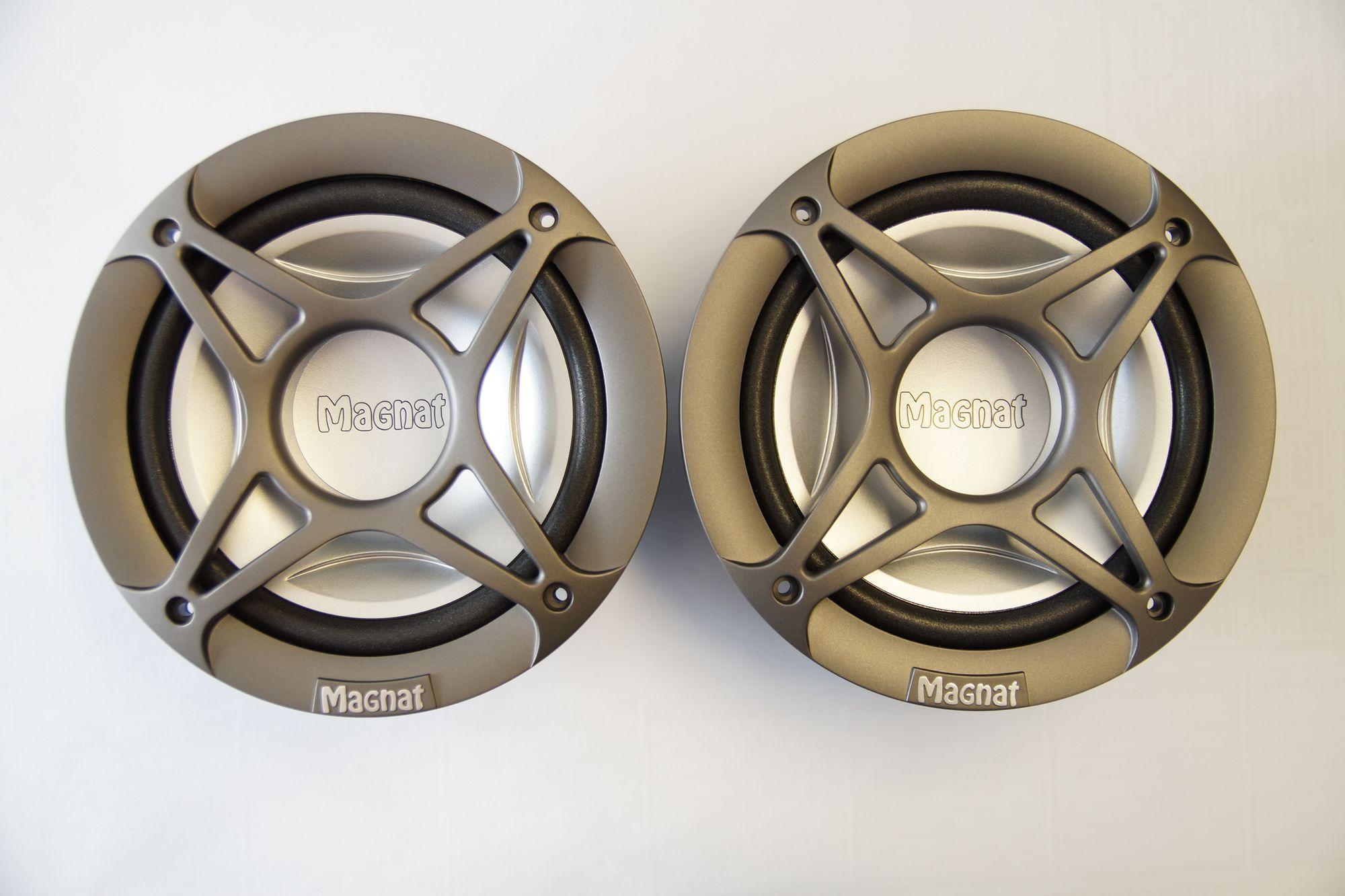 1 Paar Magnat Power Plus 2.16 Subwoofer Kickbass Tieftöner NEU 001