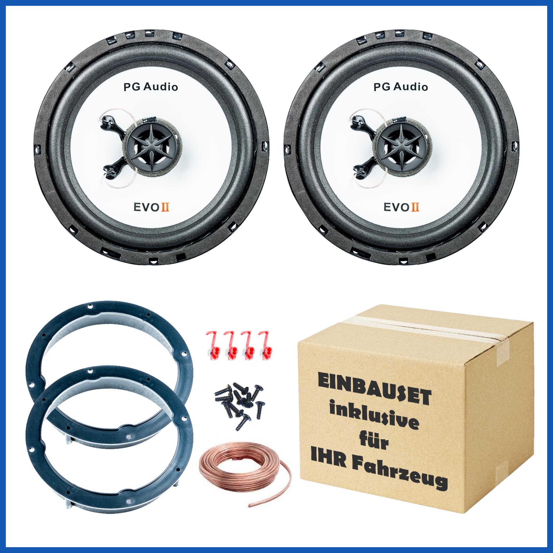 Lautsprecher Einbauset passend für Hyundai IX35, KIA Sportage, Tucson, 1 Paar