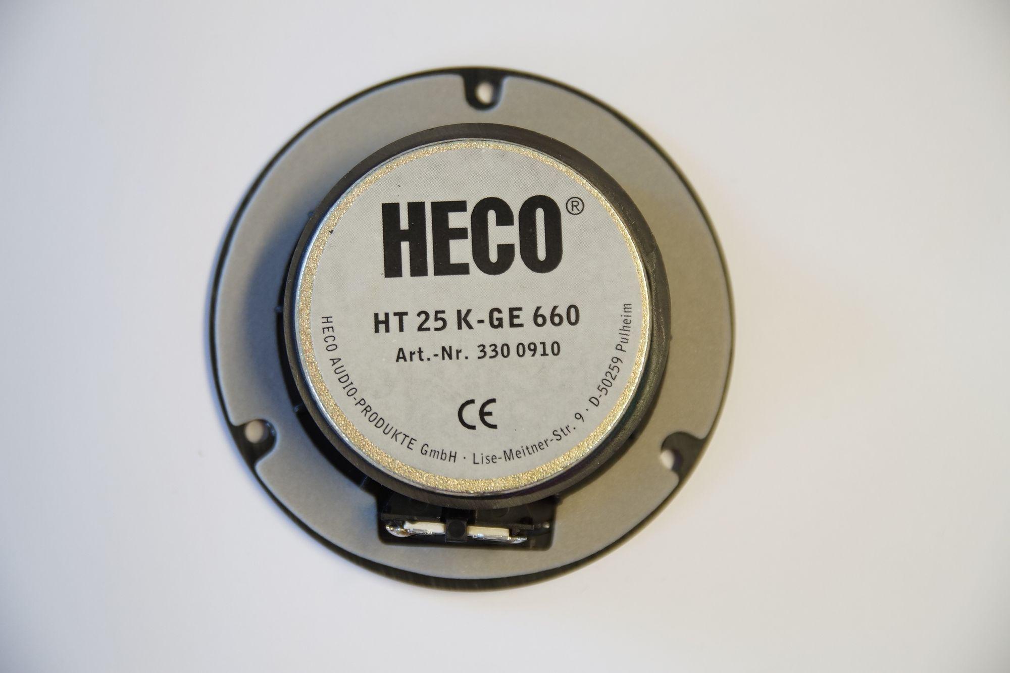 1 Paar Heco Onyx 10 Hochtöner HT 25 K-GE 660 Neu – Bild 2