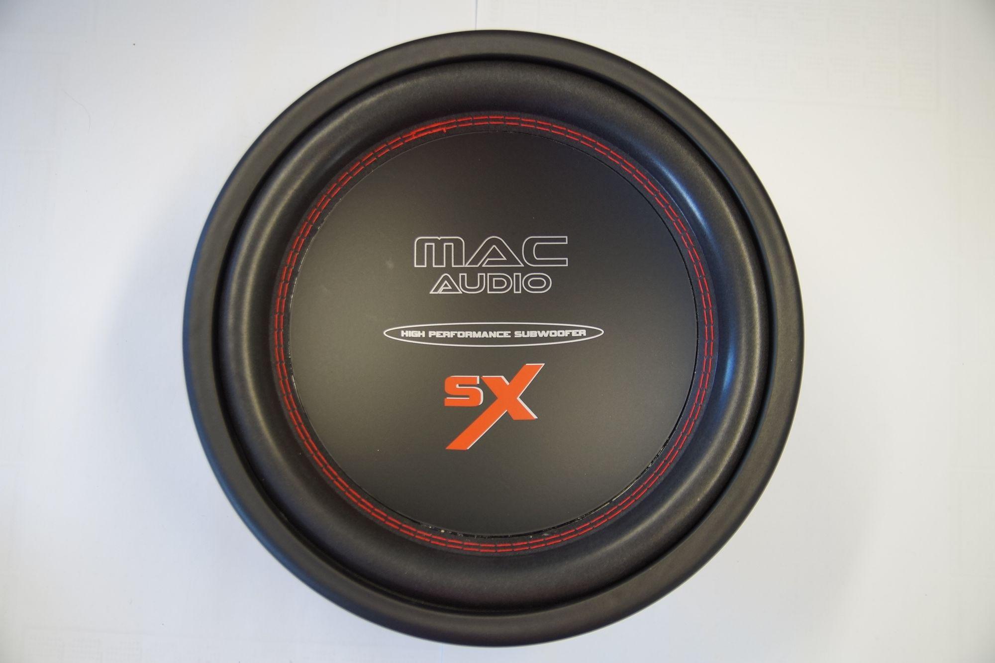 Mac Audio SX 12 Subwoofer Basslautsprecher Tieftöner 30 cm 1000 Watt