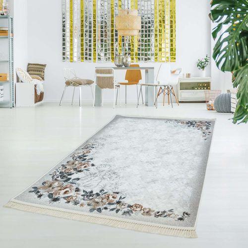 Druckteppich Waschbar Teppich Küche Wohnzimmer Rose Rosen ...