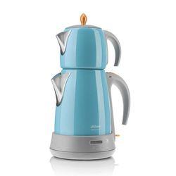Arzum Hochwertig Edelstahl Modern Teekocher Teemaschine Wasserkocher Blau 1650W