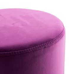 Kare Sitzhocker Hocker Designer Retro Look Purple